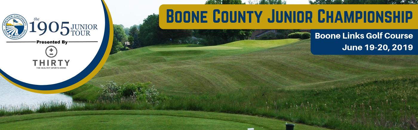 2019 GCGA Jr Tour Boone