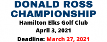 Donald Ross Champ